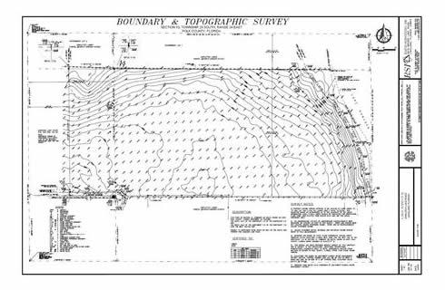 Topographical Survey Lakeland Florida Surveyors